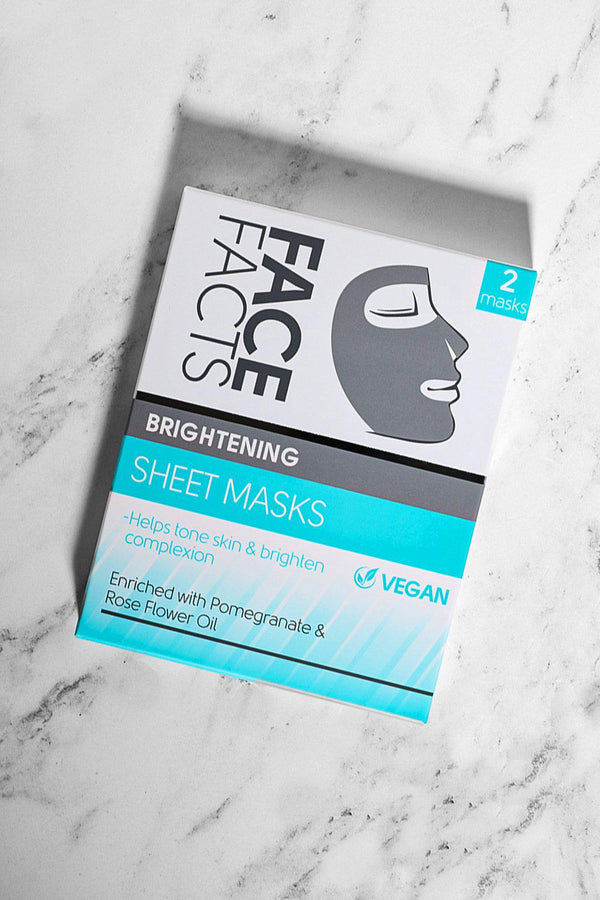 Face Facts Brightening Sheet Masks - SinglePrice