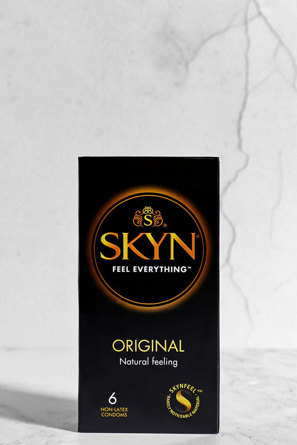 Skyn Original Natural Feeling Non Latex 6 Condoms Pack - SinglePrice