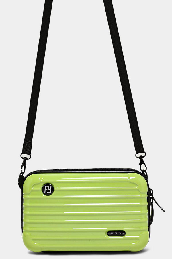 Light Green Mini Luggage Case Handbag - SinglePrice