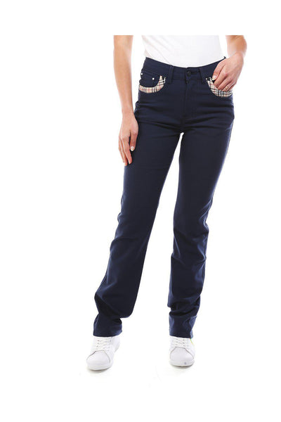 Casual Navy Trousers-SinglePrice