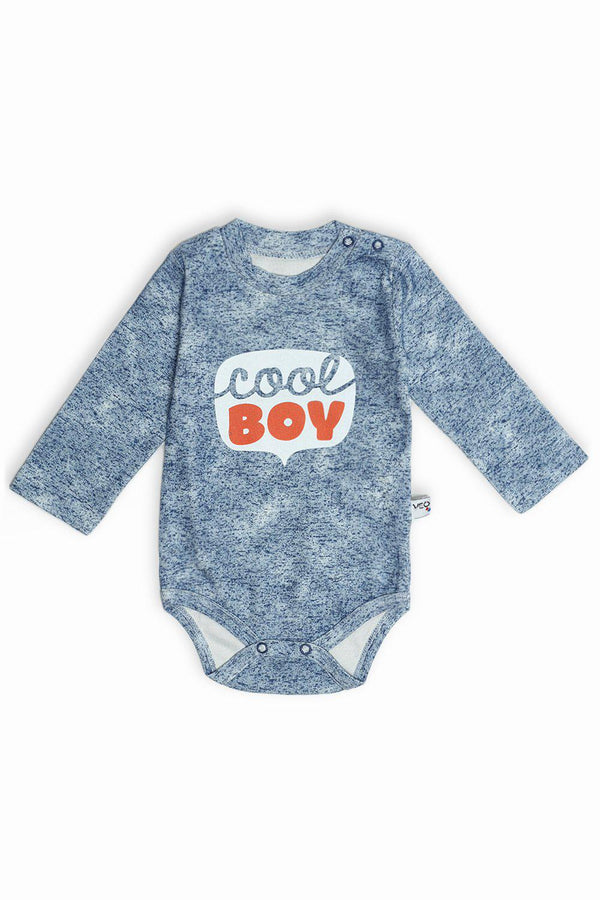 Navy Cool Boy Print Baby Body-SinglePrice