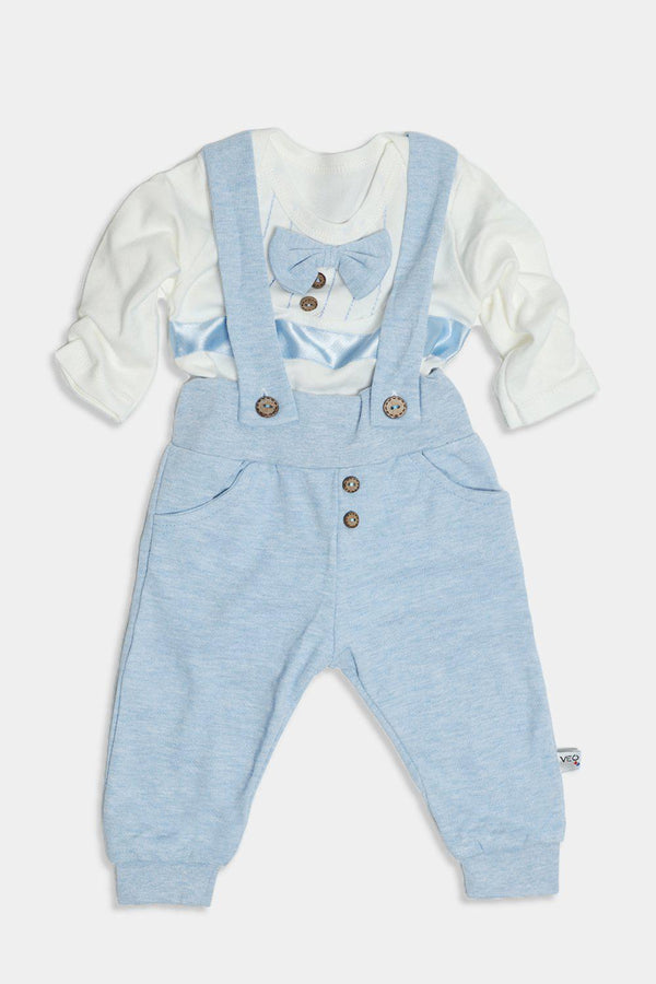 Light Blue Dapper Baby Boy Set