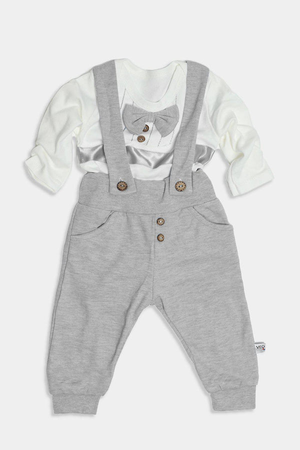 Grey Dapper Baby Boy Set-SinglePrice