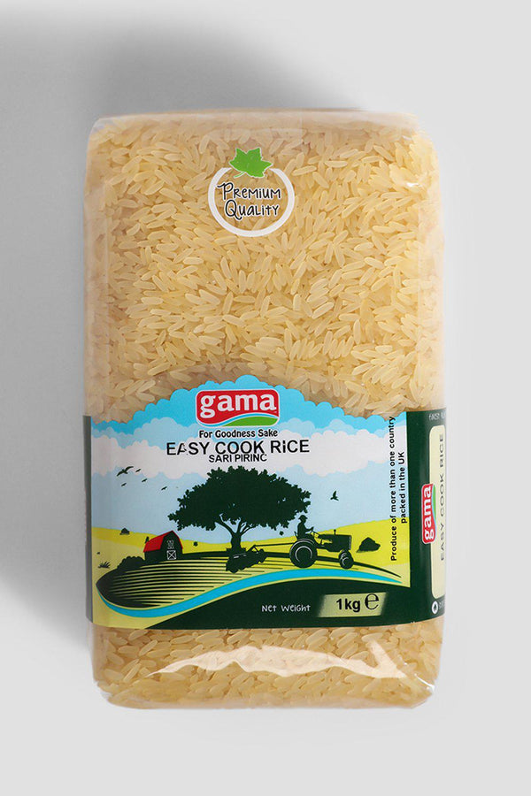 1kg Gama Easy Cook Rice - SinglePrice
