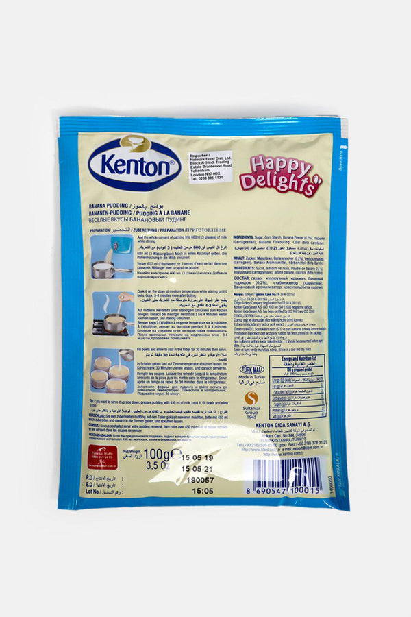 Kenton Banana Pudding 100g - SinglePrice