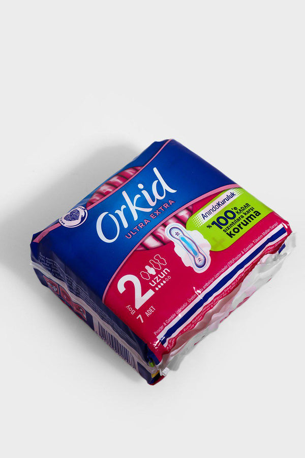 Orkid Ultra Extra Long Sanitary Towels 1 Pack Of 7 - SinglePrice