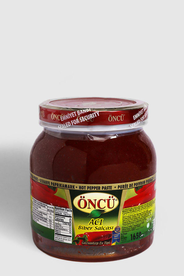 Oncu Hot Pepper Paste 1650g - SinglePrice