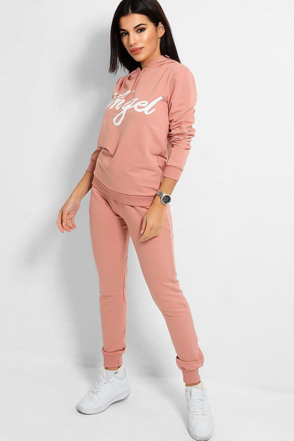Pink Angel Cotton Blend Tracksuit