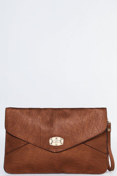 Copper Envelope Clutch