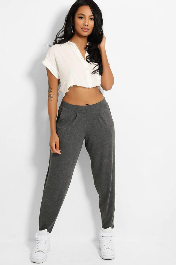 Grey Relaxed Fit Everyday Joggers