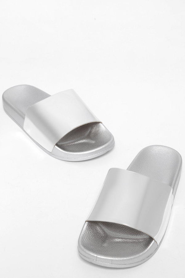 Silver Mirror Reflection Sliders-SinglePrice