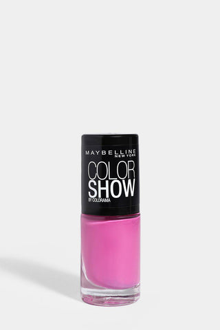 maybelline colour show nail varnish in fuchsia petal