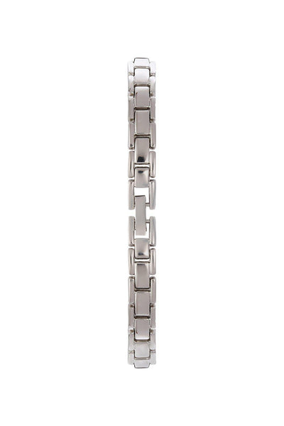 Silver Band Silver Square Dial Watch-SinglePrice