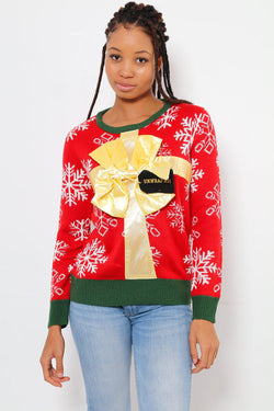 Unwrap me Christmas Sweater - SinglePrice