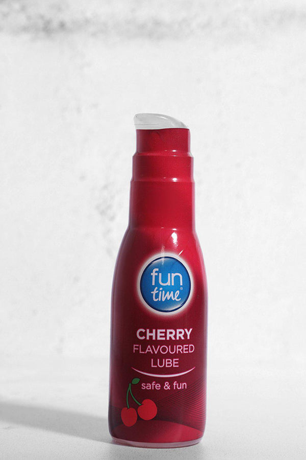 Fun Time Cherry Flavoured Lube - SinglePrice