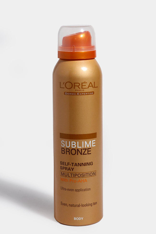 L'Oreal Sublime Bronze Self-Tanning Spray 125ml - SinglePrice