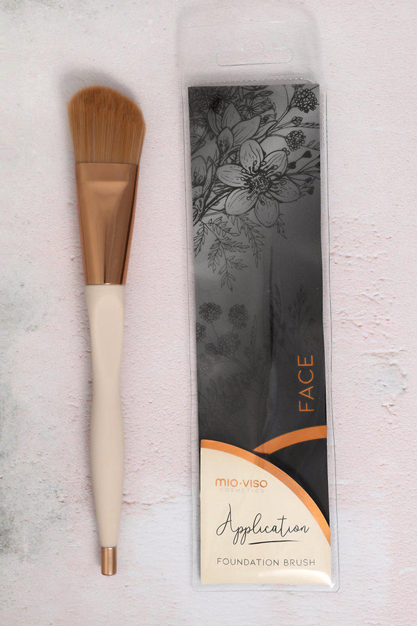 Mio-Viso Cosmetics Foundation Brush - SinglePrice