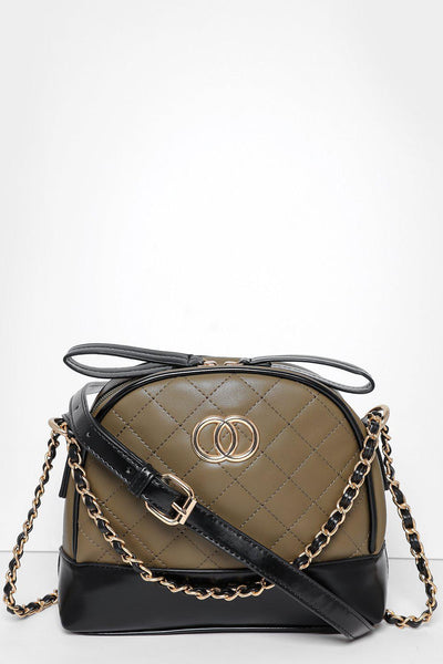 Quilted Green Small Handbag-SinglePrice