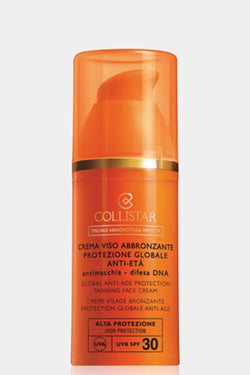 Collistar Global Anti-Age Protection Tanning Face Cream SPF30 50ml - SinglePrice