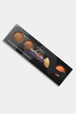 Loreal Infallible Total Cover Full Face Coverage Concealer Tan to Deep 02 - SinglePrice