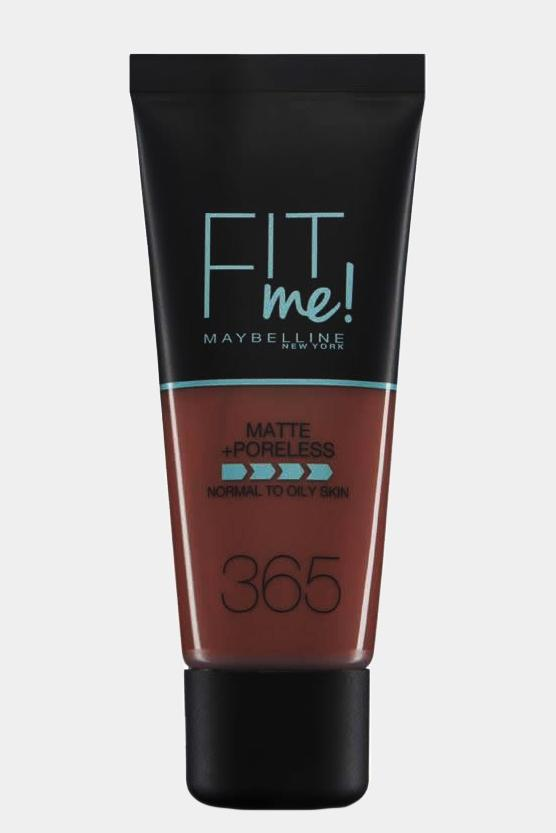 Maybelline Fit Me Matte & Poreless Foundation 365 Espresso - SinglePrice
