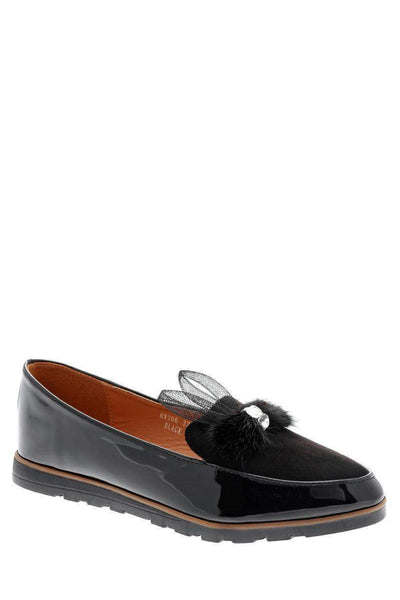 Black Bunny Ears Flats-Single price