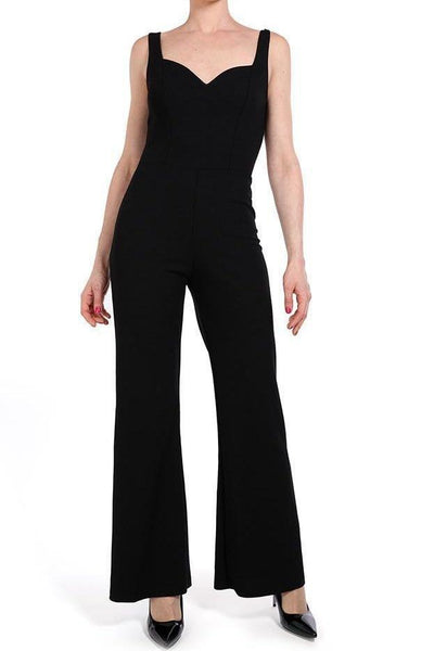 Black Smart Jumpsuit-SinglePrice