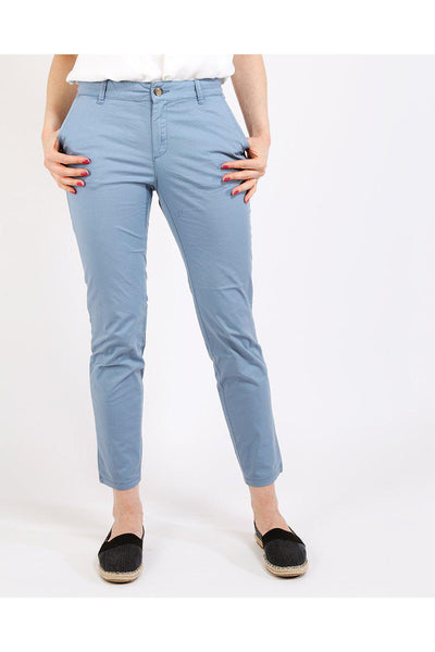 Blue Chino Trousers-SinglePrice