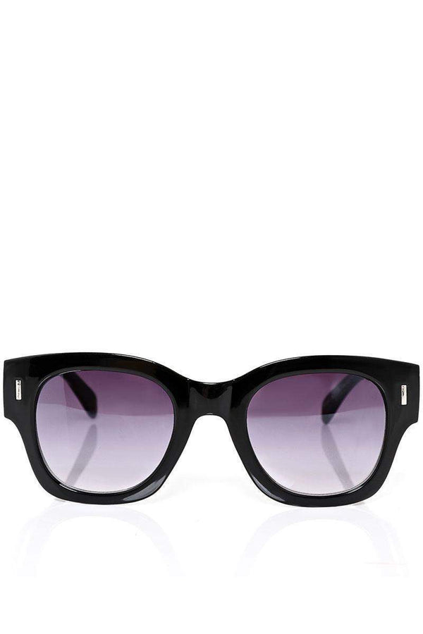 Coloured Frame Black Sunglasses-SinglePrice