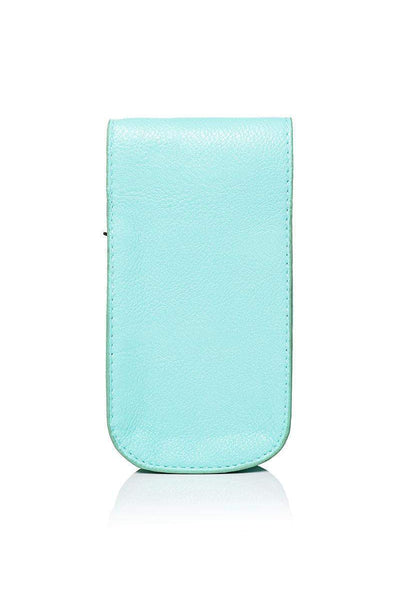 Embellished Green Smartphone Cross Body Bag-SinglePrice