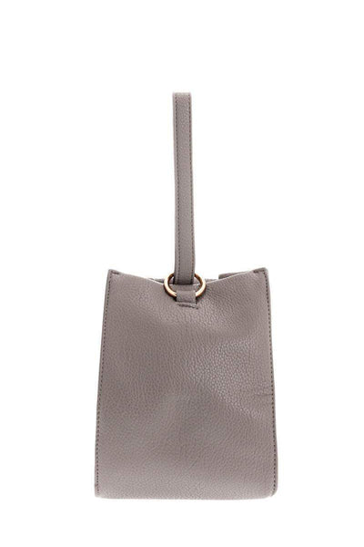 Hand Strap Grey Bucket Bag-Single price