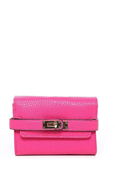 Lock Strap Small Pink Purse-SinglePrice
