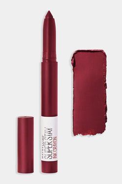 Maybelline 24hr Superstay Matte Ink Crayon Lipstick 55 Make It Happen - SinglePrice