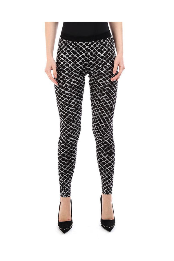 Monochrome Stretchy Leggings-SinglePrice