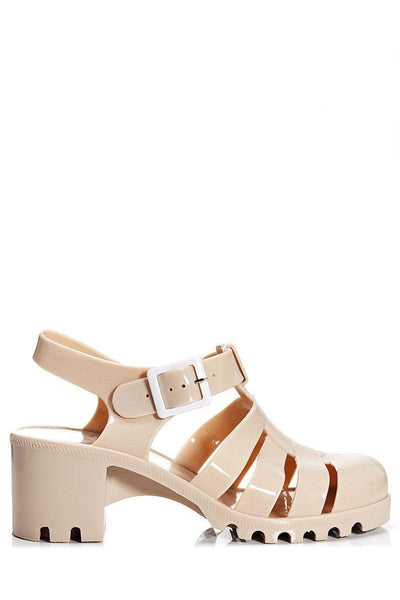 Nude Jelly Sandals-Single price