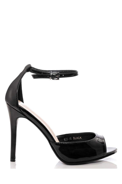 Patent Classic Ankle Strap Heels-Single price