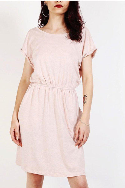 Pink T-Shirt Dress-SinglePrice