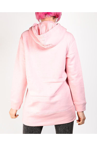 Pink Thick Long Hoodie-SinglePrice