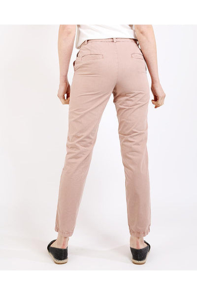 Rose Boyfriend Chino Trousers-SinglePrice