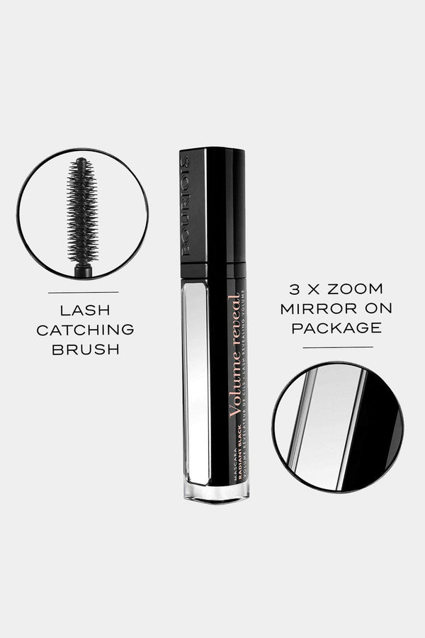 BOURJOIS Volume Reveal Ultra Radiant Black Mascara