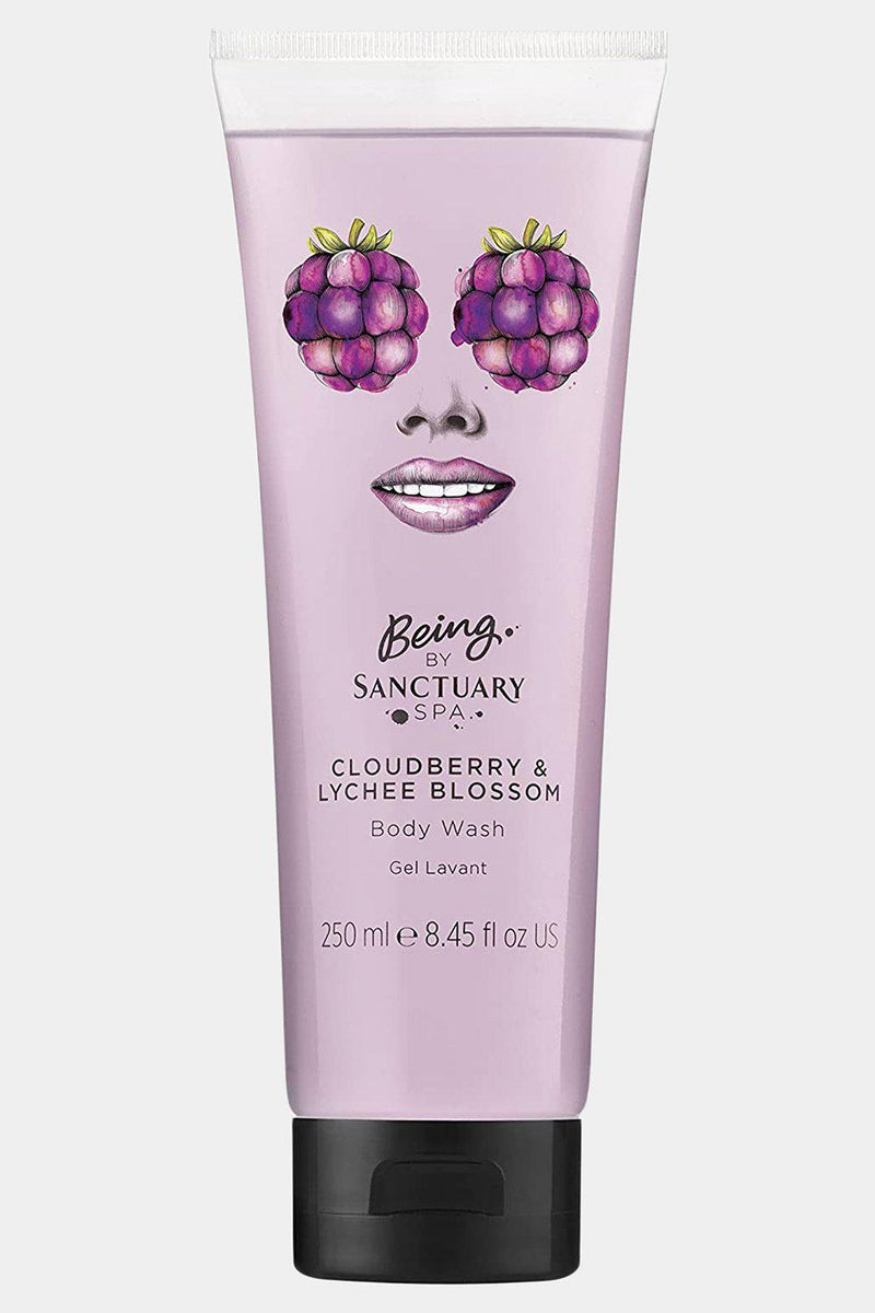 Sanctuary 250ml Cloudberry & Lychee Blossom Body Wash - SinglePrice