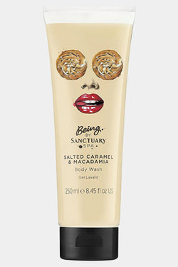 Sanctuary 250ml Tub Salted Caramel & Macadamia Body Wash - SinglePrice