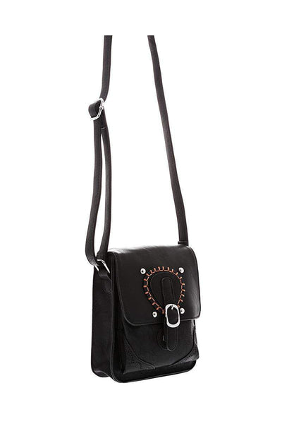 Small Black Boho Cross Body Bag-Single price