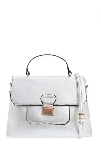 Small Silver Satchel-Single price
