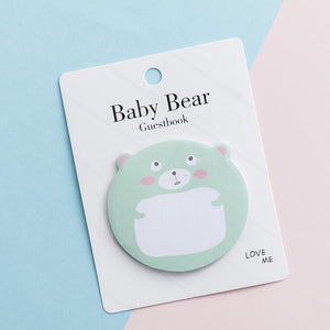 Bear Sticky Notes