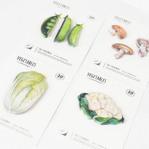 Vegetable Sticky Notes