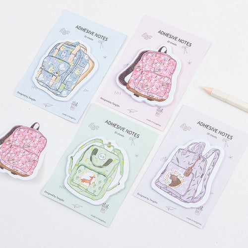 Backpack Sticky Notes