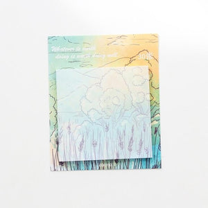 Oil Painting Sticky Notes