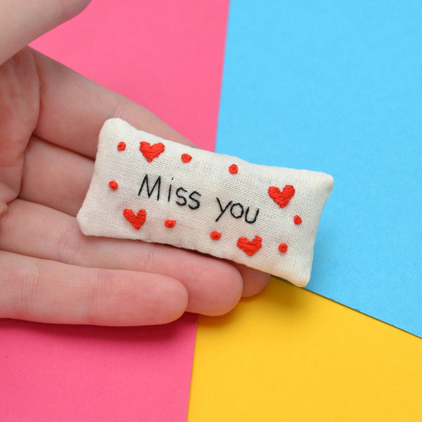 Miss You Pocket Calmer Made to Order