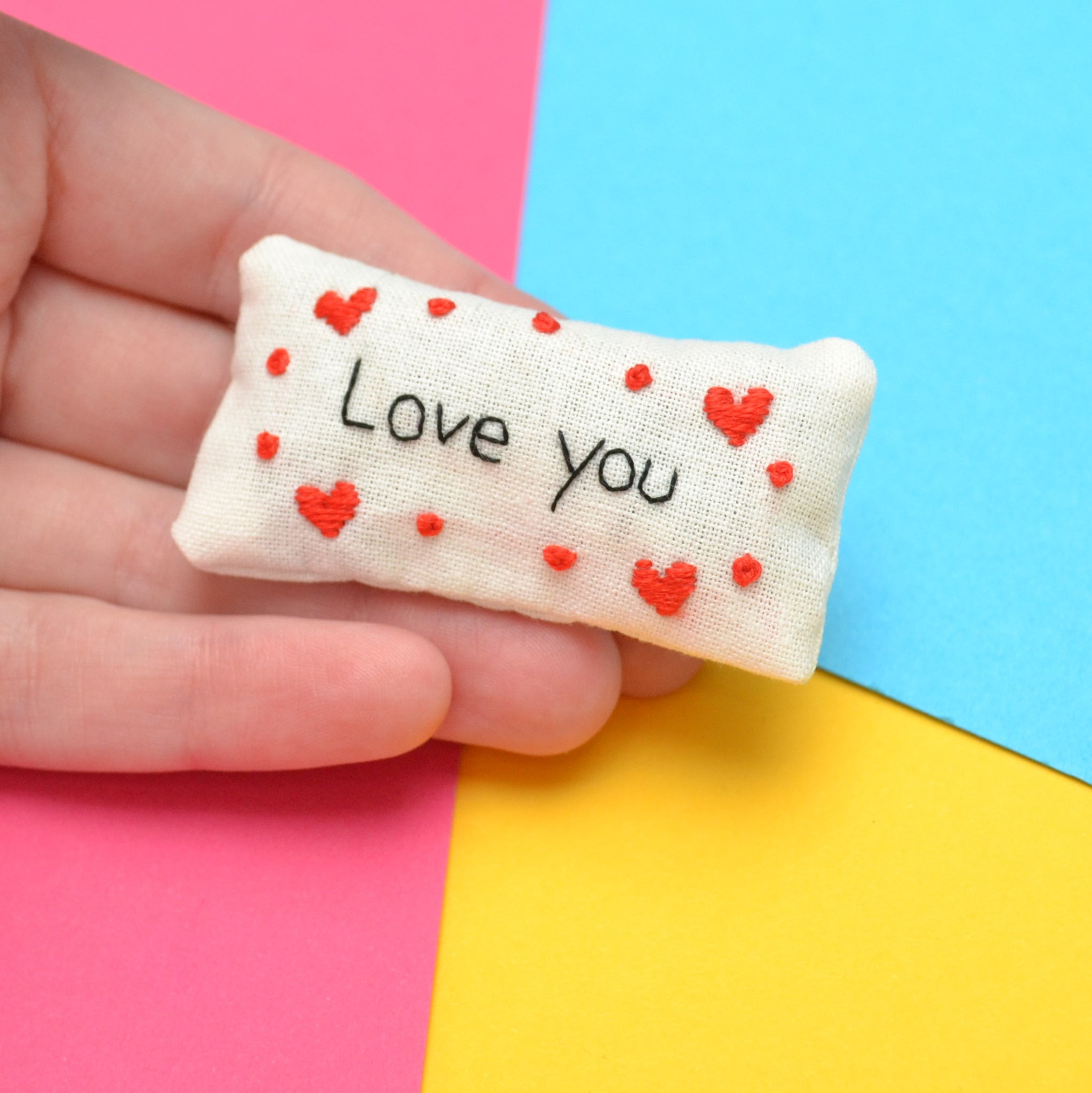Love You Pocket Calmer Made to Order